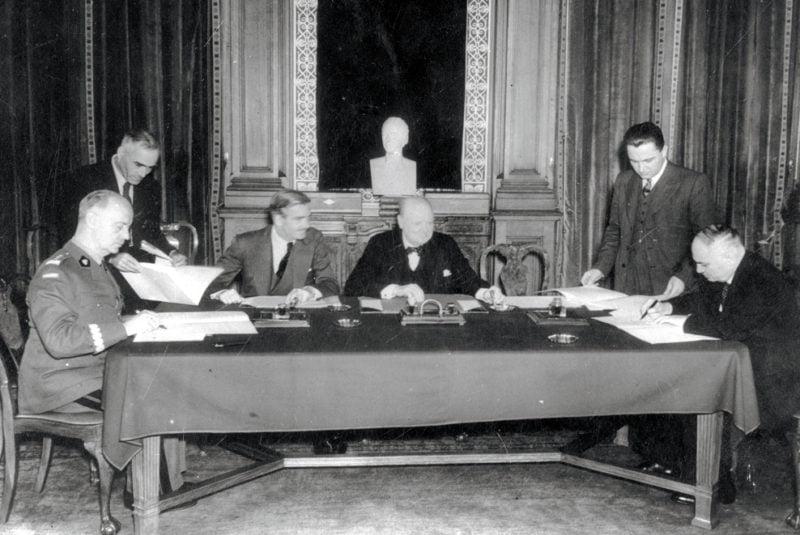 Podpisanie tzw. układu Sikorski-Majski