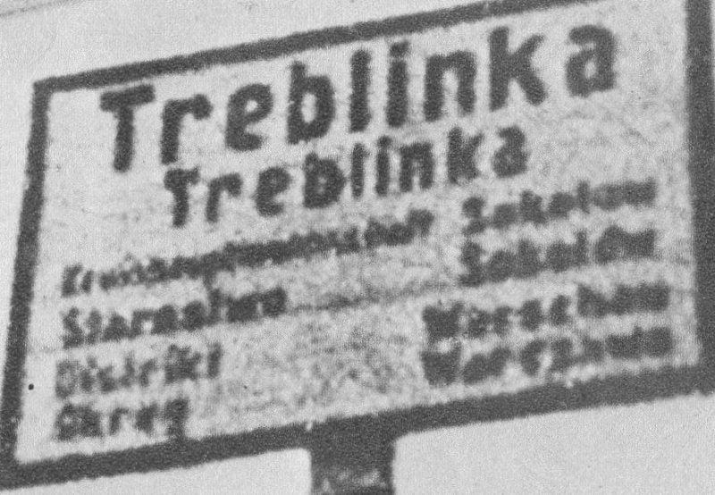 Utworzenie obozu zagłady w Treblince