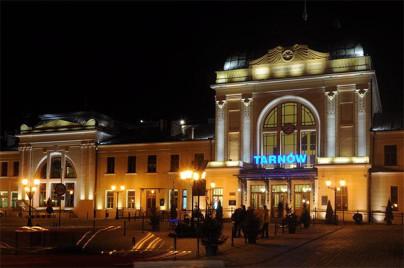 Zamach na dworcu kolejowym w Tarnowie