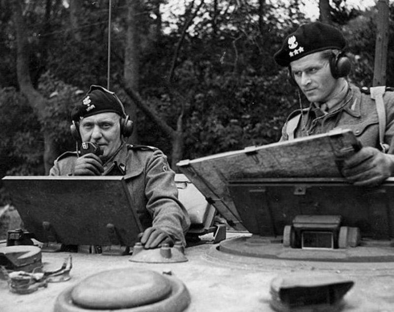 I Dywizja Pancerna gen. Stanisława Maczka wkroczyła do Bredy