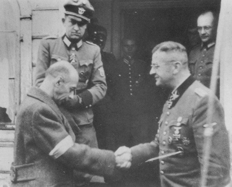 Klęska powstania warszawskiego