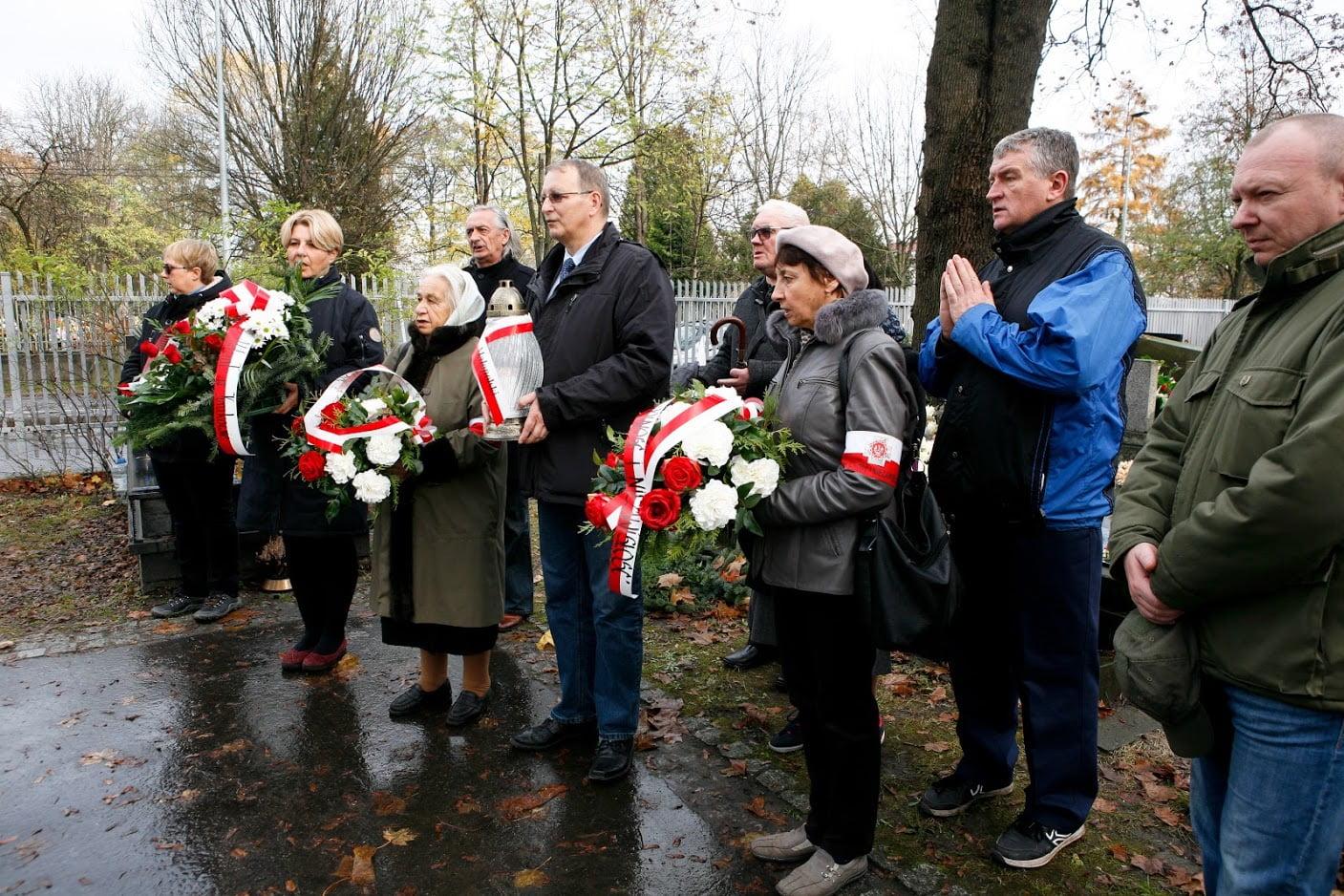 Uczczenie pomordowanych członków II Zarządu WIN