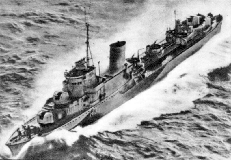 Wszedł do służby polski niszczyciel ORP Błyskawica
