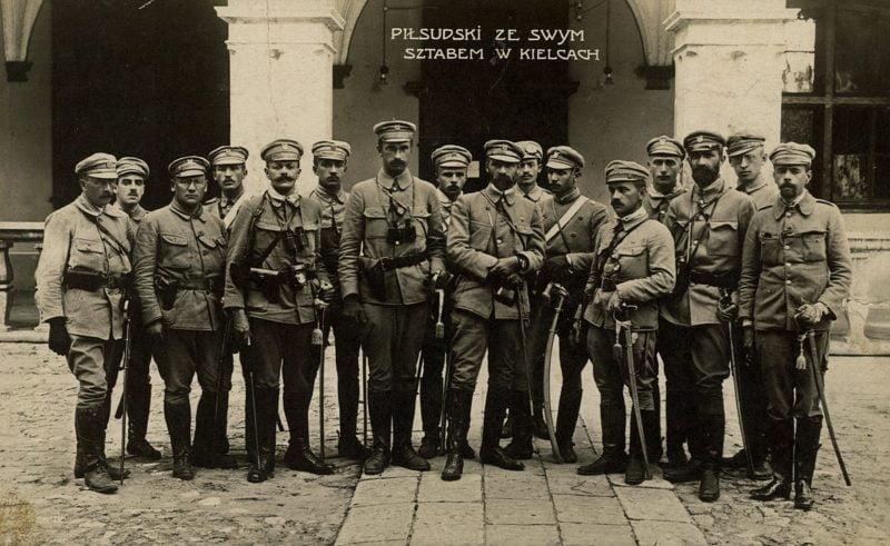 Oficjalnie powołano Legiony Polskie