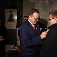 "Marek Bik odznaczony medalem ""Pro Patria"""