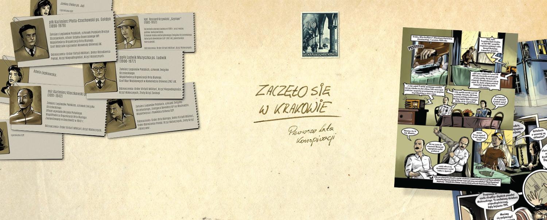"""""""Zaczęło się w Krakowie Pierwsze lata konspiracji"""" – komiks historyczny Muzeum AK!"""