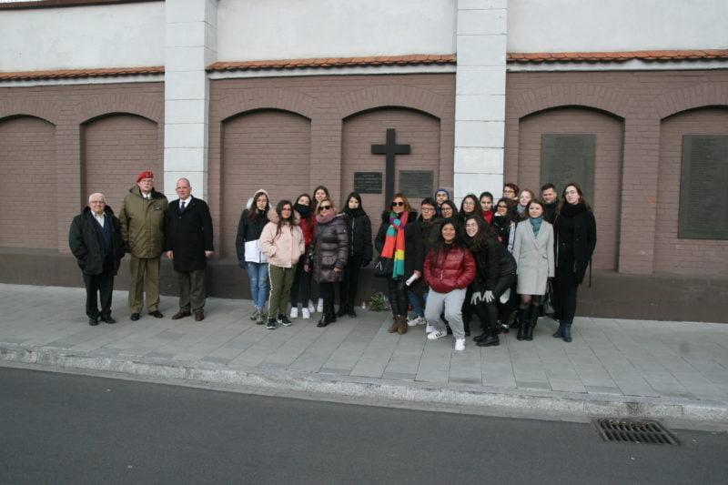 Wizyta grupy hiszpańskiej młodzieży w Muzeum AK 14.02.2020 r.