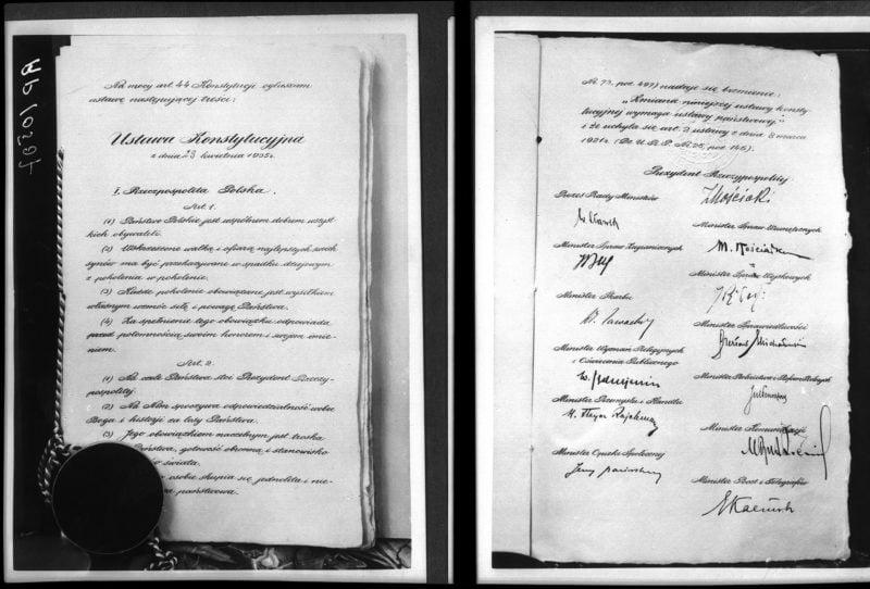 Konstytucja kwietniowa. #3 podcast z serii #zostańwdomu z #MuzeumAK.