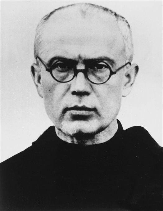 o. Maksymilian Maria Kolbe oddał życie za współwięźnia.