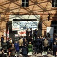 Uroczystość wręczenia Krzyży Wolności i Solidarności w Muzeum AK