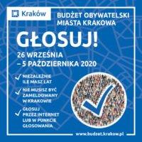 Głosowanie w ramach VII edycji Budżetu Obywatelskiego Miasta Krakowa