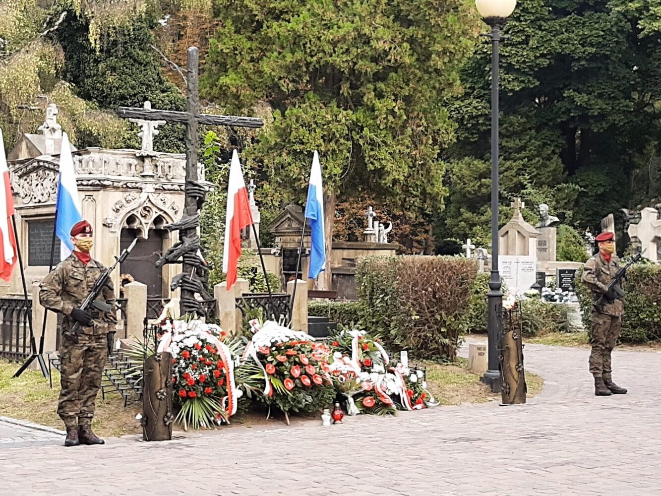 Uroczystości przy Pomniku Ofiar Komunizmu w 81. rocznicę sowieckiej agresji na Polskę
