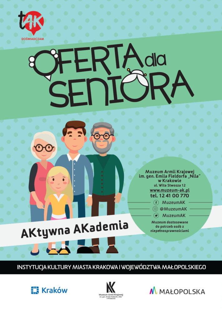 Inauguracja specjalnej oferty zajęciowej i warsztatowej dla Seniorów pn. Aktywna Akademia 20.09.2018 r.