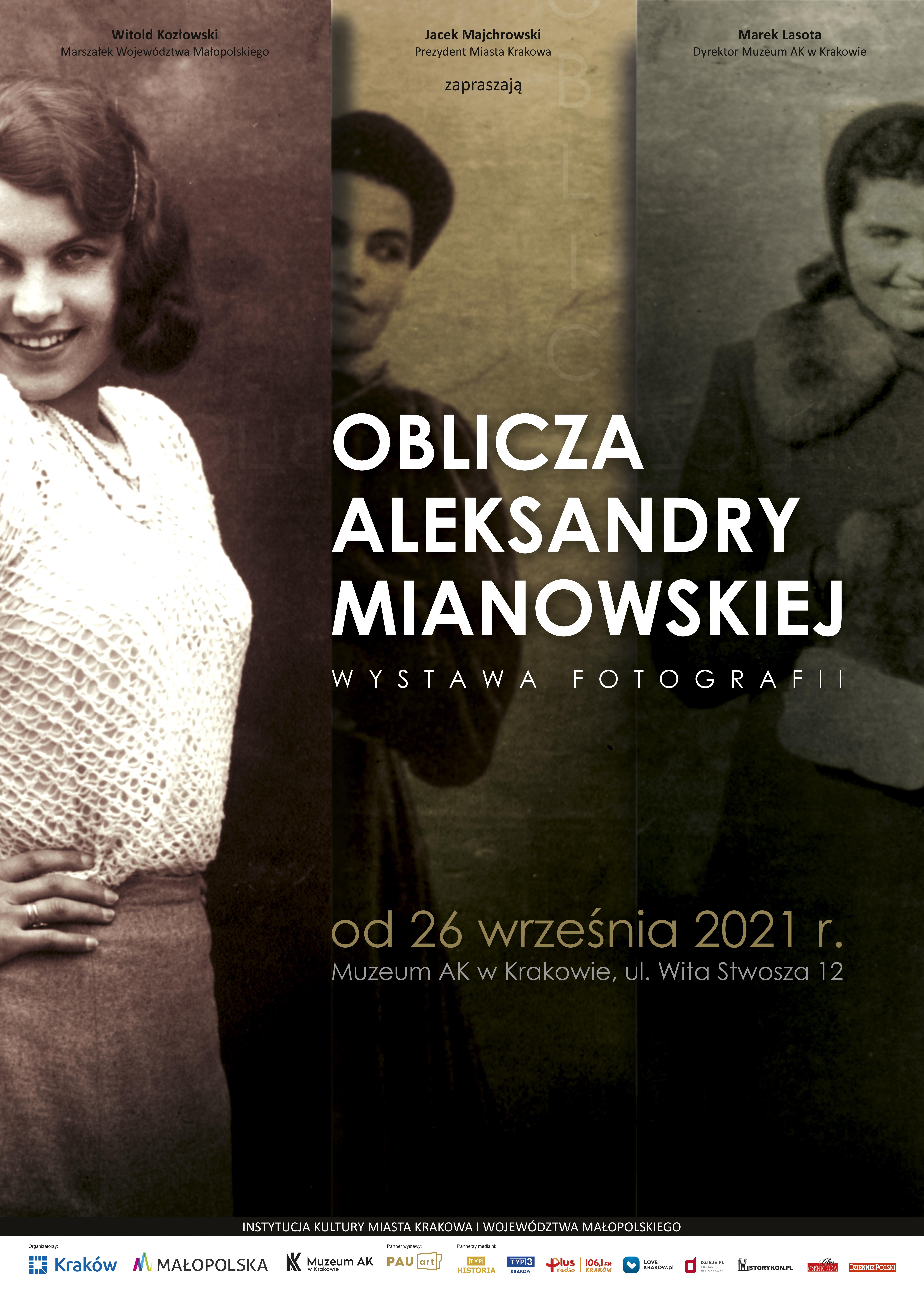 Oblicza Aleksandry Mianowskiej