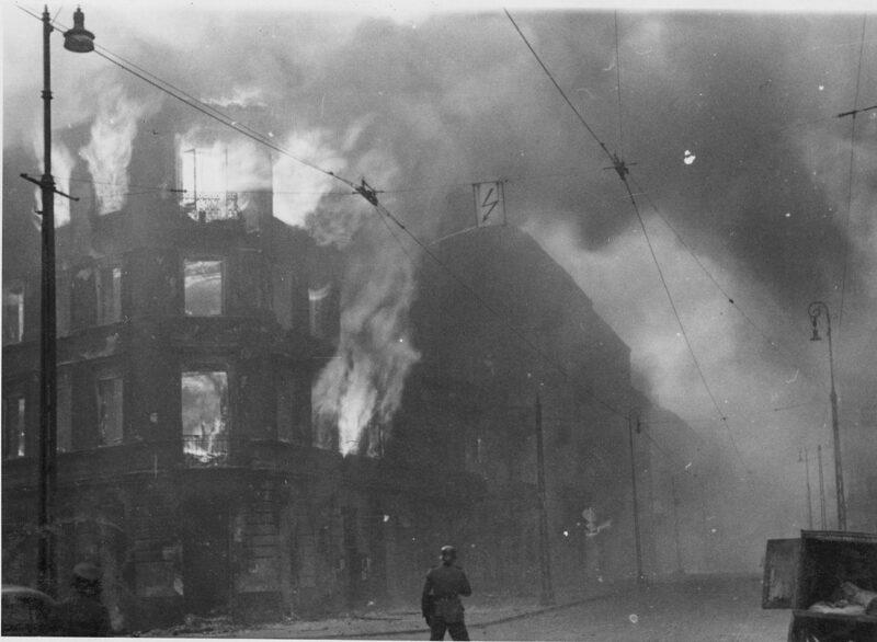 Dwunasty dzień powstania w getcie warszawskim