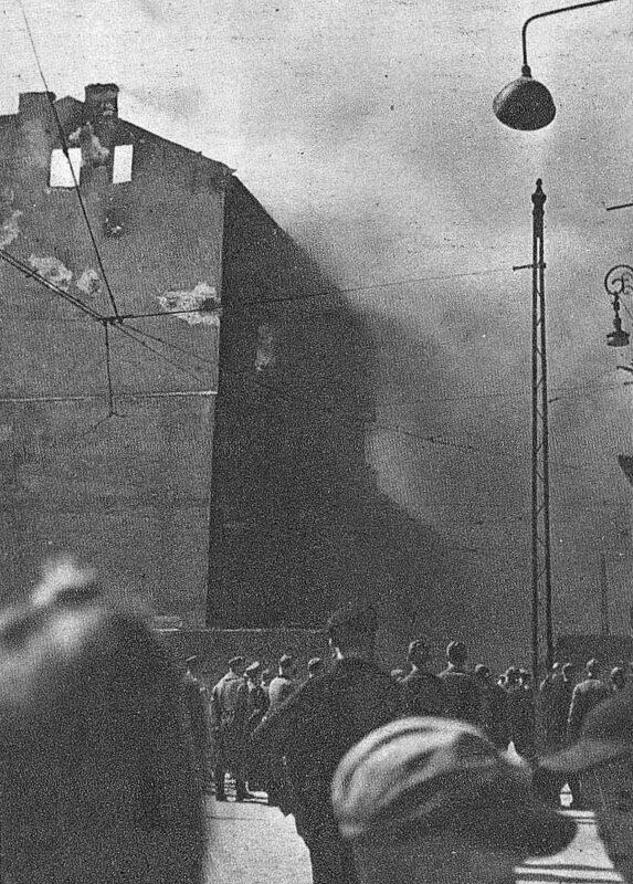 8. dzień powstania w getcie warszawskim