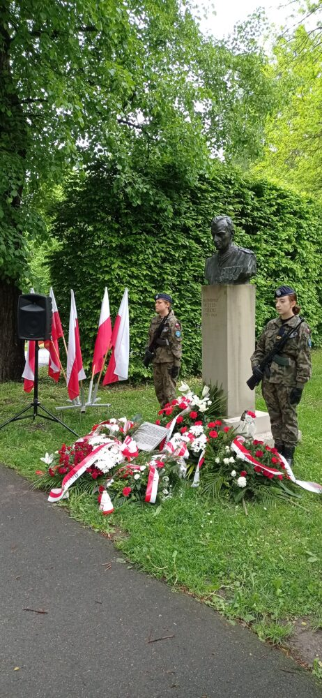 Upamiętnienie 73. rocznicy śmierci rotmistrza Witolda Pileckiego