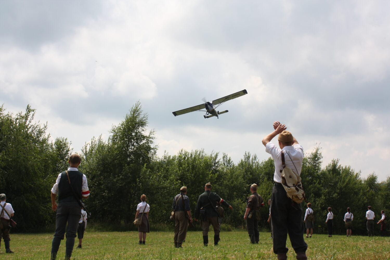 Inscenizacja historyczna na wzgórzu Dzielec w Słopnicach