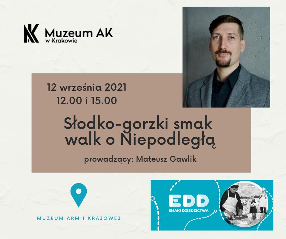 Europejskie Dni Dziedzictwa w Muzeum AK 12.09